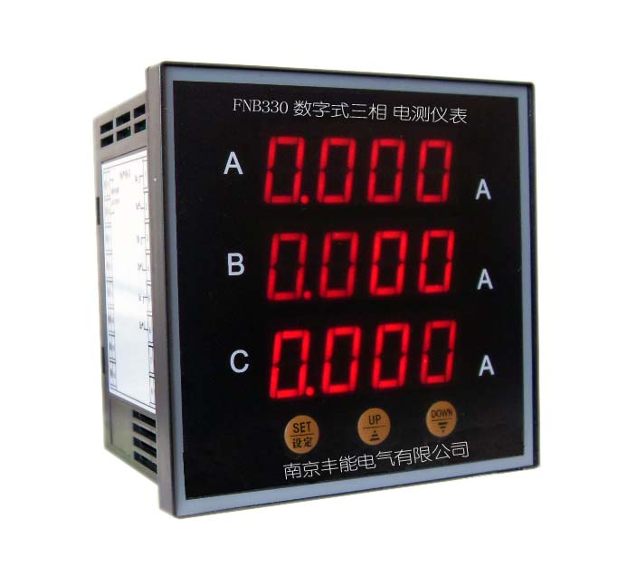fnb330系列仪表壳适用于所有电压等级及接线方式,满足各种规格的高